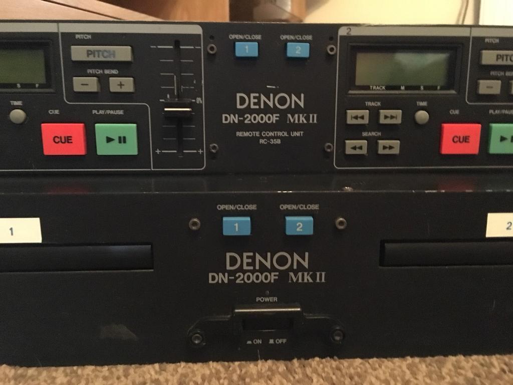 Denon DN-2000F MK II Twin CD Player