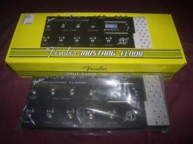 Fender Mustang Floor Guitar Multi Effects Processor / Never Used !