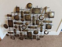 Lovely Marks and Spencer metal wall art.