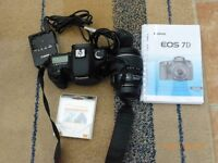 Canon 7d camera with a 15 85 Lens