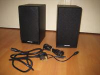 Sirocco Spirit home studio powered monitor speakers