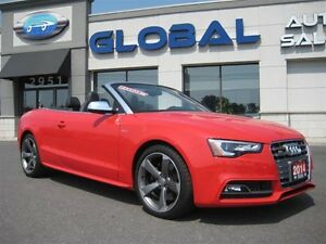 2014 Audi S5 ONLY 4, 523KM!!!  ALMOST NEW
