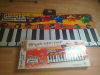 Musical dancing keyboard