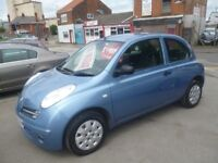 Great looking Nissan MICRA Initia,1240 cc 3 door hatchback,full MOT,runs and drives as new,only 65k