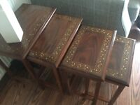 Rosewood furniture. Must be seen. Excellent quality. Stunning designs.