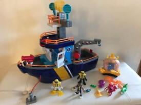 Imaginext ocean ship
