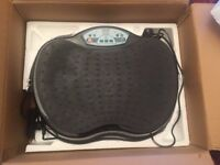 **LOWER PRICE** Hardly Used Vibration Plate Machine, Suitable for Seated/Standing Use, Toning Up