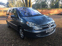 PEUGEOT 807 7 SEATER EXECUTIVE PEOPLE CARRIER