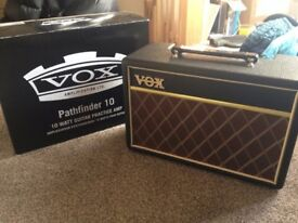 Vox 10 watt Practise Amp like new!