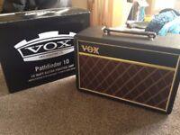 Vox 10 watt Practise Amp like new!