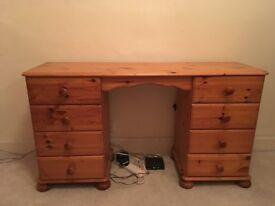 Solid pine dressing table - dresser (Meadowbank)