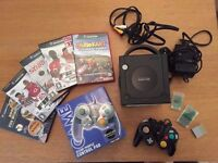 Nintendo GameCube Black Console With Games & Accessories