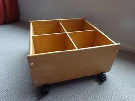 Floor level book box