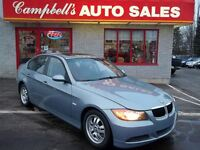 2007 BMW 323 I SUNROOF!! HEATED LEATHER!! 6SPD!! CRUISE!! POWER