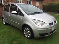Fantastic Value 2055 55 Mitsubushi Colt Equippe 5 Door Hatch April MOT Low Insurance Low Tax