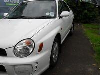 2001 Subaru Impreza Sold with full mot.