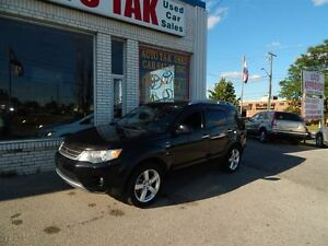 2008 Mitsubishi Outlander 7 PASSENGER AWD LEATHER SUNROOF