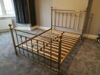 Next Metal Double Bed Frame