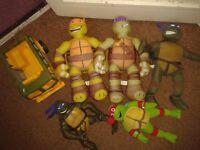 bundle of ninja turtles toys