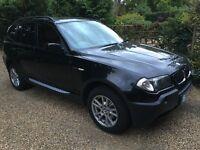 BMW X3 2.5i SE - Black Automatic