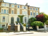 Large Period Flat In Beautiful Period House. Unfurnished. Available 14.04.17.