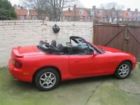 MAZDA MX5 200 MODEL FULL YEARS MOT LOADS OF SERVICE HISTORY AND BILLS FOR WORK DONE GREAT CONDITION
