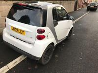 2010 59reg Smart Four Two 800cc Turbo Diesel White Automatic New Shape private plated