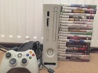 Xbox 360 & 22 games bundle