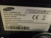 LE 40 Samsung TV