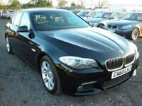 BMW 5 SERIES 2.0 520D M SPORT 4d 181 BHP (black) 2011