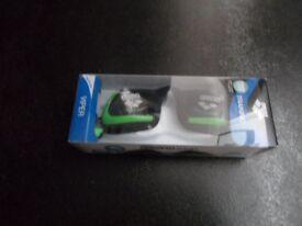 New Arena unisex Goggles Viper, SMOKE-ACID LIME-BLACK, one size