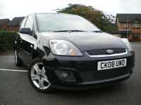 *** Ford Fiesta 1.4 TDCi 5dr BLACK *** ONLY COVERED 115K ***3 months warranty included ***