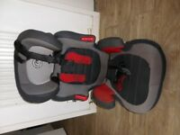 Child car seat suitable for age 2-9 years
