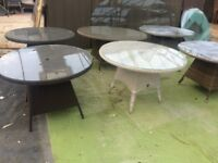 Joblot of weave tables