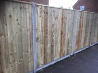 Fencing and gates supplied and fitted.