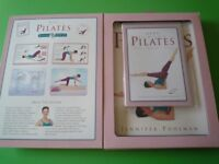 PILATES BOOK AND DVD by JENNIFER POHLMAN - UNUSED & BOXED GIFT