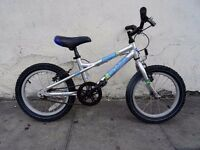 Kids Bike By Dawes, Silver, 14 inch For Kids 4 + Years, Light Ali Frame,JUST SERVICED/ CHEAP PRICE!!