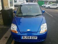 CHEVROLET MATIZ 1.0 PETROL MANUAL 2008 58 PLATE QUICK SALE