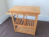 Kitchen trolley/butchers block in great condition