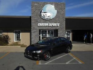 2010 Mitsubishi LANCER EVOLUTION MR! FINANCING AVAILABLE!