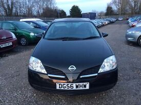 Nissan Primera 1.8 S 5dr, 1 FORMER KEEPER. MOT TILL FEB 18 . HPI CLEAR. GOOD CONDITION. P/X WELCOM