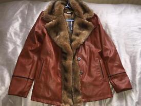 Beautiful winter brown coat