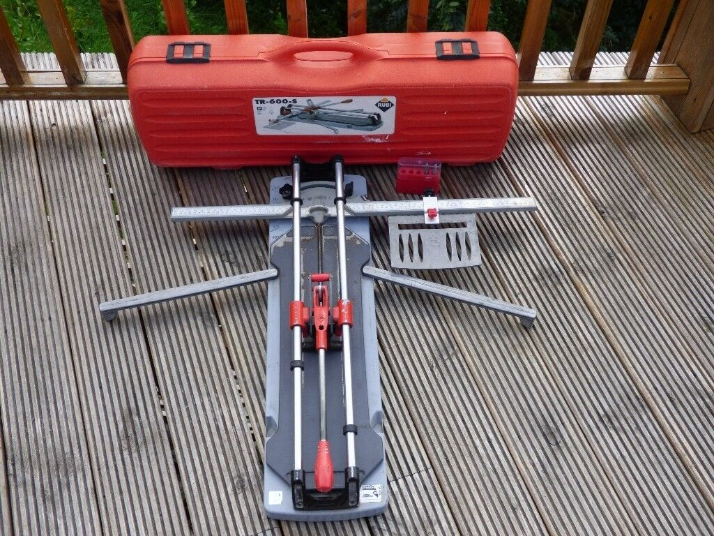 Rubi Tr600 S Professional Tile Cutter Complete With Case Aberdeen 130 00 Images Map Https I Ebayimg Nzy4wdewmjq
