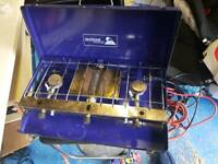 Gas Camping grill and hob