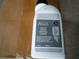 Altech Central Heating Universal Cleaner , 12 x 500ml bottles, Brand New and Sealed in Box