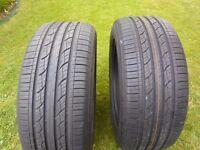 255/55/19V Nexen Tyres x 2 Nearly new!! No Repairs!! 7-8 MM Tread!!!!