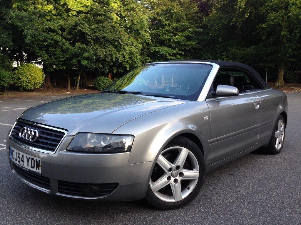 2004 audi a4 cabriolet 1.8 t quattro (4 wheel drive) | in leeds