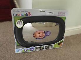 Munchkin Baby in-sight mirror brand new