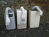 Air conditioning units free standing portable