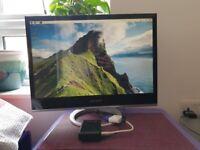 Raspberry Pi 4 model B with monitor